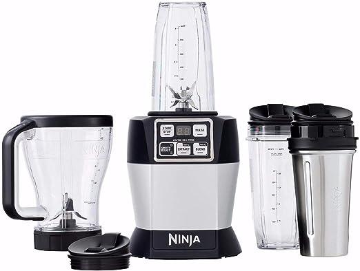 Nutri Ninja Auto IQ Pro sistema completo de licuadora: Amazon.es ...