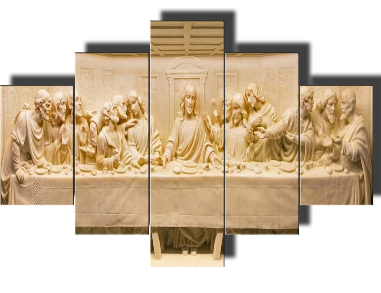 Amazon.com: Christian Pictures for Wall The Last Supper Wall Decor ...