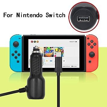 Aobiny - Cargador de Coche Compatible con Nintendo Switch ...