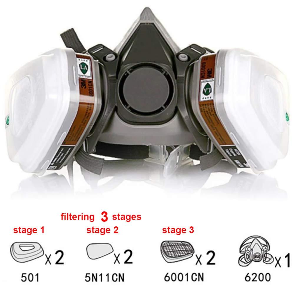 3m maske 6200 filter