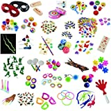 Awesome 100+ Piece Toy Assortment For Birthday favors, Filler, Treasure Box, Party Supplies, Party Favors, Pinata Filler, Party Favors, Loot Bags, Carnival Prizes, Novelty Toys, Gag Toys