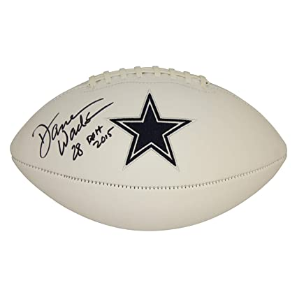 f40ddbbdd Darren Woodson Dallas Cowboys Autographed Signed White Panel Logo Football  - ROH 2015 Inscription - PSA