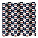 "Buffalo Bills NFL Fabric Shower Curtain (72""x72"")"