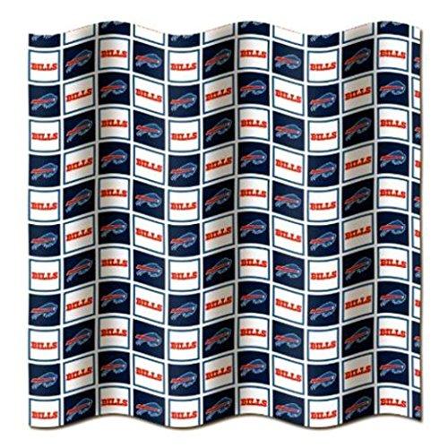 Buffalo Bills Shower Curtain - Buffalo Bills NFL Fabric Shower Curtain (72