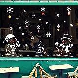 DELIKANG Christmas Decorations Snowflakes Window
