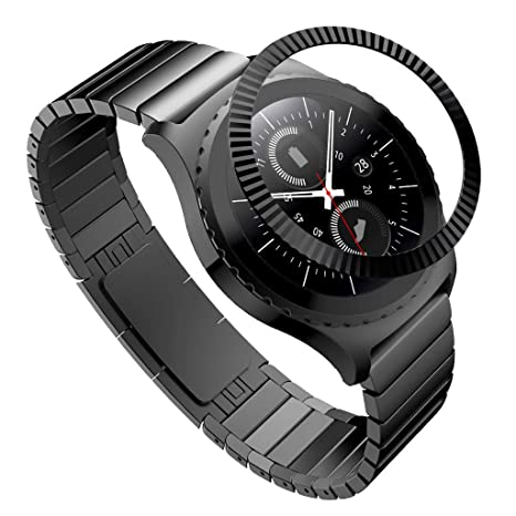 Amazon.com : Shan-S Bezel Ring Compatible for Samsung Gear ...