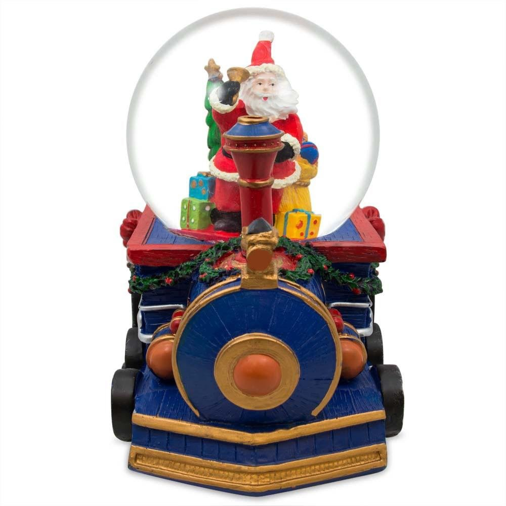 BestPysanky Santa Delivering by Train Musical Snow Globe B015MA89K0 B015MA89K0 B015MA89K0 Schneekugeln 7b0525