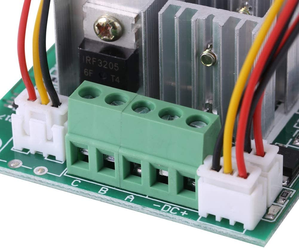 Motor Speed Controller Regulator Reversible Motor Controller CW CCW Switch DC 5V-36V 15A Brushless 3 Phase Motor Controller