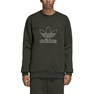 adidas Originals Outline Crewneck Sweatshirt Night Cargo