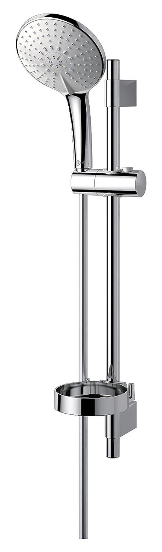 Ideal Standard B9430AA Idealrain XL1 Asta Doccia 1 Funzione, Diametro 140 mm, Asta Murale 600 mm
