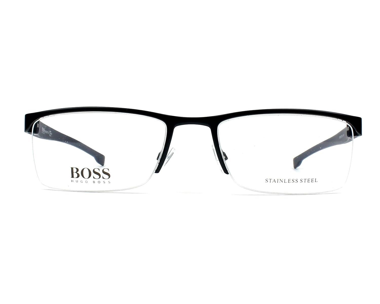 43e363b420ca Amazon.com: Eyeglasses Boss Black Boss 878 00J4 Matte Blue: Clothing