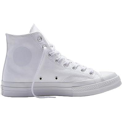 b0b29d1b9d33 Converse Mens CT AS 70 HI White White Nylon Size 8