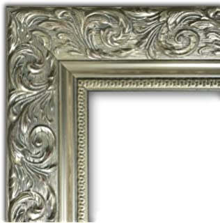 Amazoncom One 16x20 Ornate Heritage Silver Picture Frame And