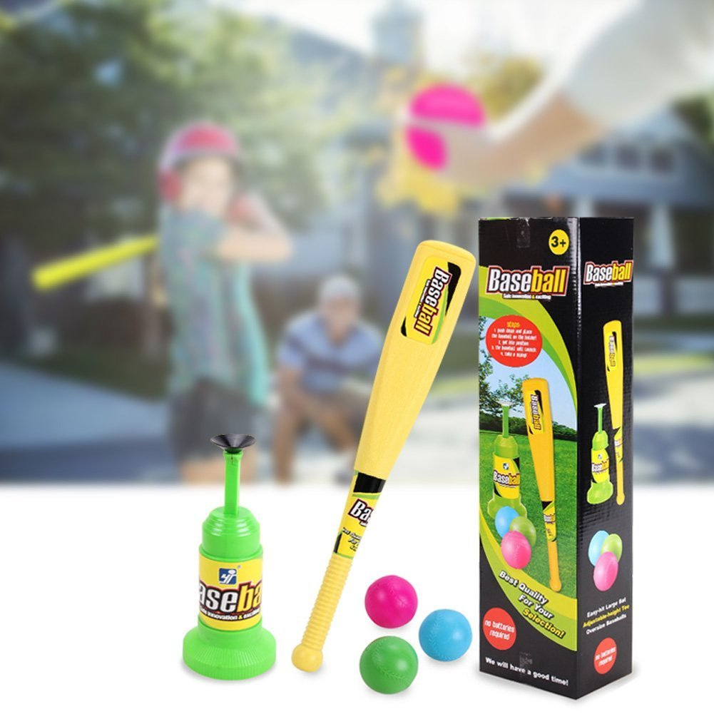 Baseball Trainer Practice Toy, Vpower Automatic Adjustable Launcher Baseball Educational Leisure Physical Training Team Sports Toys For Fun Family Home&Outdoor Game Toys