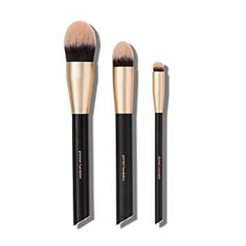7f03fd008c5 Amazon.com: Sonia Kashuk Professional Flawless Foundation Makeup Brush Set,  pack of 1: Beauty