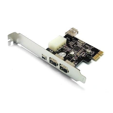Amazon.com: Dynamode PCIX3FW) 3-Port tarjeta FireWire PCI ...