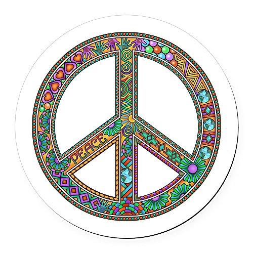 Peace Car Magnet - 4