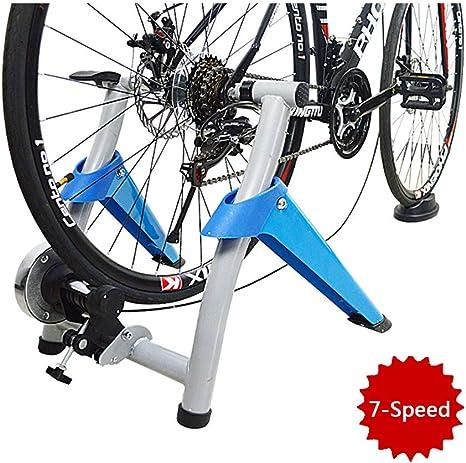 Indoor Bike Trainer Trainer cubierta magnética Eexercise soporte ...