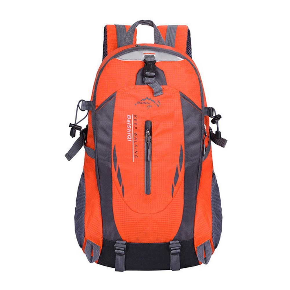 orange 40L 6 colors Outdoor Sports Climbing Mountaineering Backpack Camping Hiking Trekking Rucksack Travel Waterproof Cover Bike Bags,orange