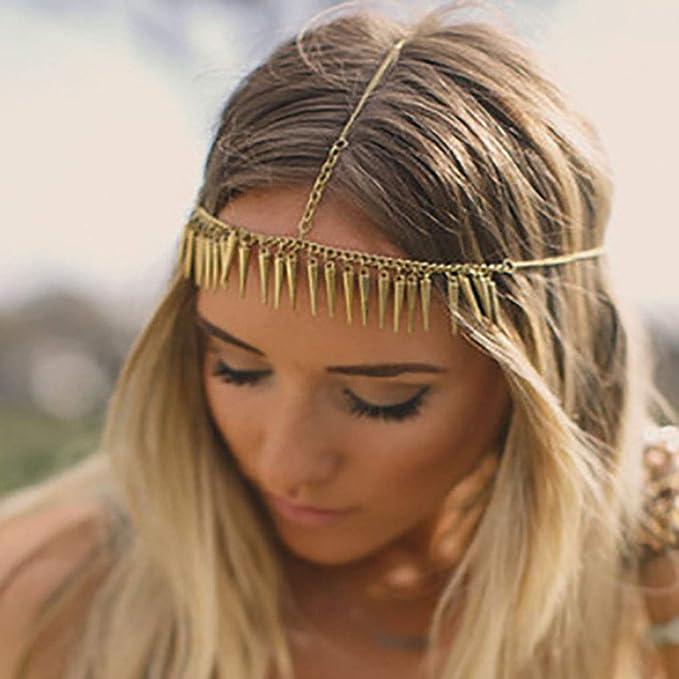 Greek Goddess Gold Coins Hair Accessory Belly Dancer Head Piece Coin Hair Chain Halloween Hair Accessory Beaded Head Chain