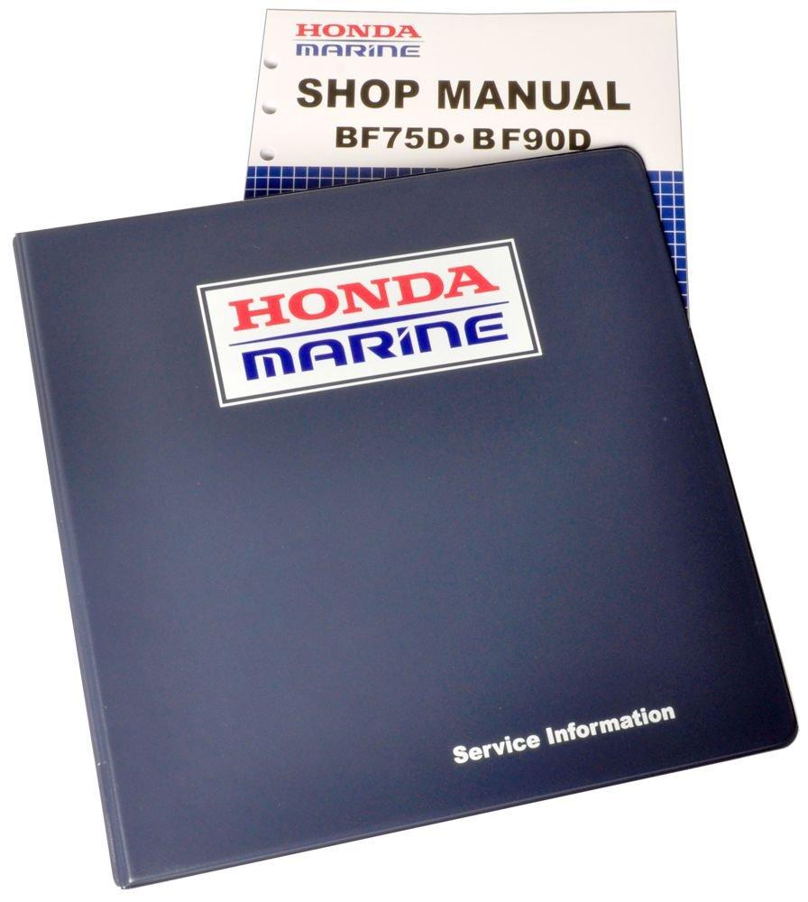 Honda BF75 BF90 D Model Marine Outboard Service Repair Shop Manual, Boating  - Amazon Canada