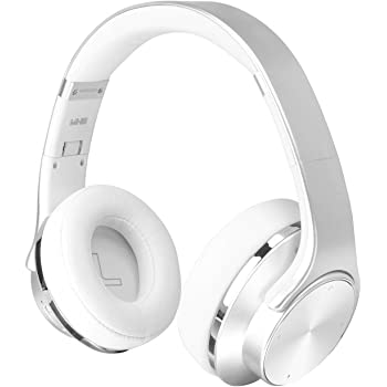 SODOLIFE 2-in-1 Wireless Bluetooth Headphones Over Ear with Speaker, Wired/