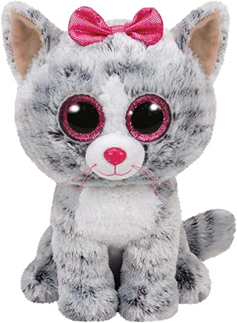TY- Peluche, juguete, Color gris, 23 cm (United Labels Ibérica 37075TY) , color/modelo surtido: Amazon.es: Juguetes y juegos