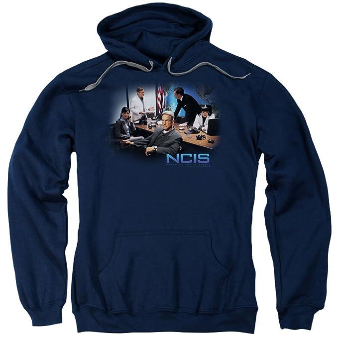 2Bhip Ncis cbs tv show gibbs reparto original Sudadera trabajo de casos para hombre: Amazon.es: Ropa y accesorios