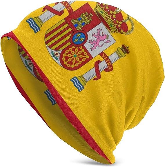Uliykon - Gorro de Invierno con diseño de la Bandera de España ...