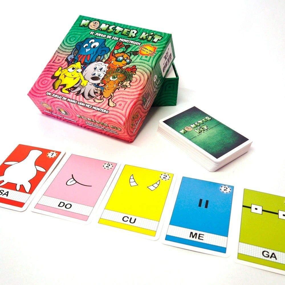 Monster Kit - segunda edicion - juego de mesa para niños (edición ...