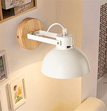 Scandinavian Moderne Minimalistische LED Holz Wandlampe Hotel Bett  Wohnzimmer Schlafzimmer Balkon Gang Wandleuchte