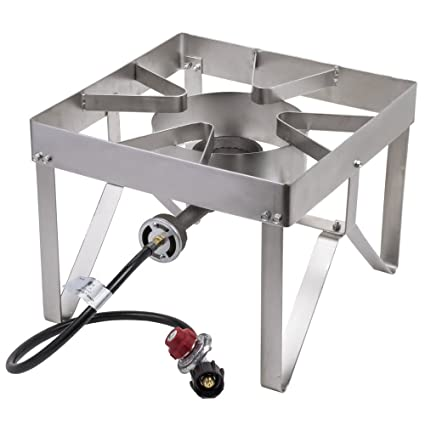 Marvelous Tabletop King Pro Stainless Steel Single Burner Outdoor Patio Stove / Range