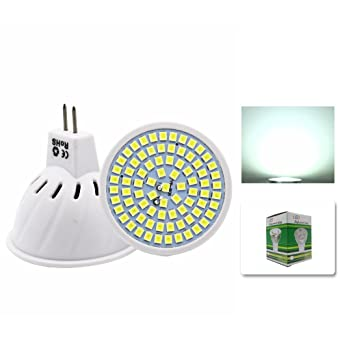 Mengjay® 1 x bombillas LED Embalaje 6000-7000K 5W bombillas LED en blanco frío