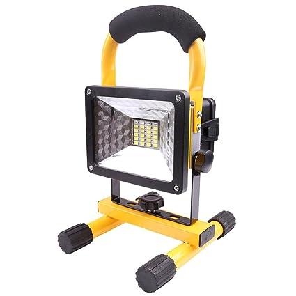 30W Portátil Foco Lámpara LED Proyector,Lámpara Camping,Luz para ...