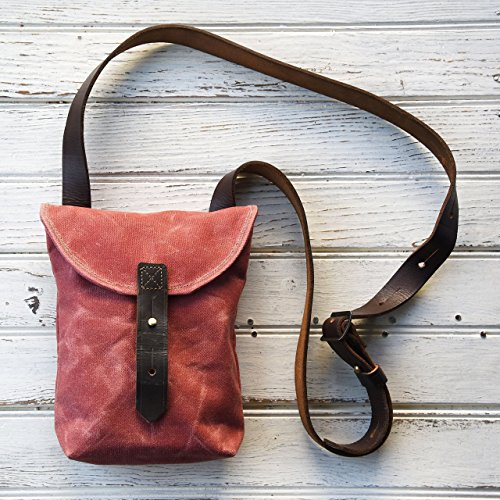 The Small Hunter Satchel by Peg and Awl