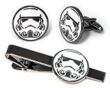 Stormtrooper Tie Clip, Star Wars Cufflinks, Jedi