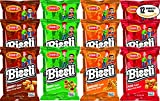 #4: Osem Bissli Variety Pack Special - Kosher For Passover - BBQ, Onion, Smokey, Pizza, 1oz Bag (Pack of 12, Total of 12 Oz