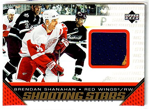 2005-06 Upper Deck Shooting Stars Jerseys #SBS Brendan Shanahan Game-Worn Jersey Card