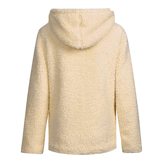Las Mujeres del botón sólido del Bolsillo de Manga Larga Elegante Chaqueta Informal de Invierno cálido Parka Outwear Ladies Overcoat: Amazon.es: Ropa y ...