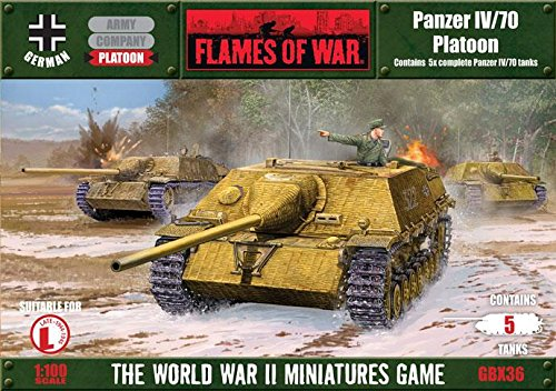 Flames Of War German Panzer Iv/70 Platoon