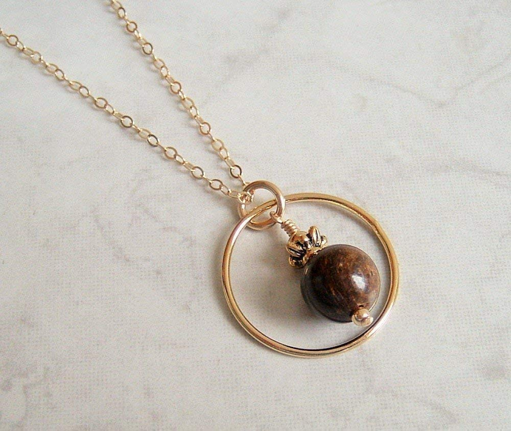 Round The Copper 20 Inch Necklace