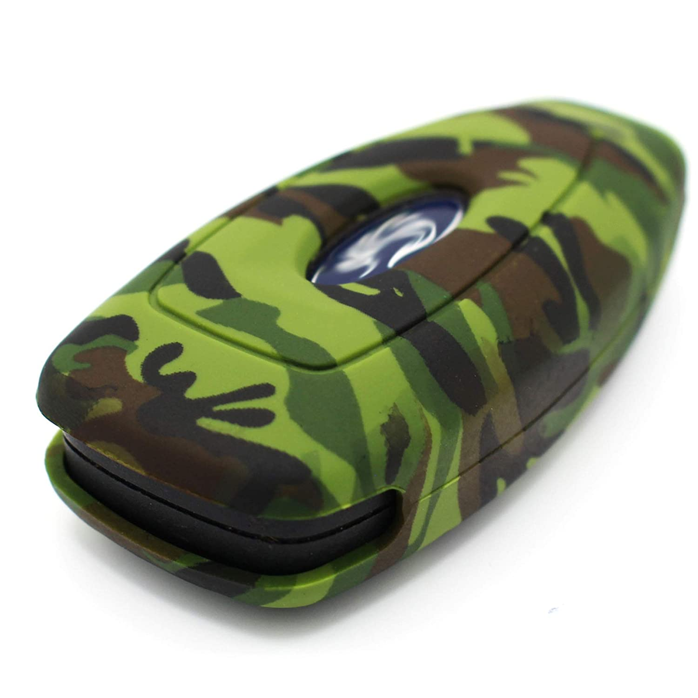 Finest-Folia con 3 pulsanti cover per chiave dauto in silicone .Totenkopf Bunt