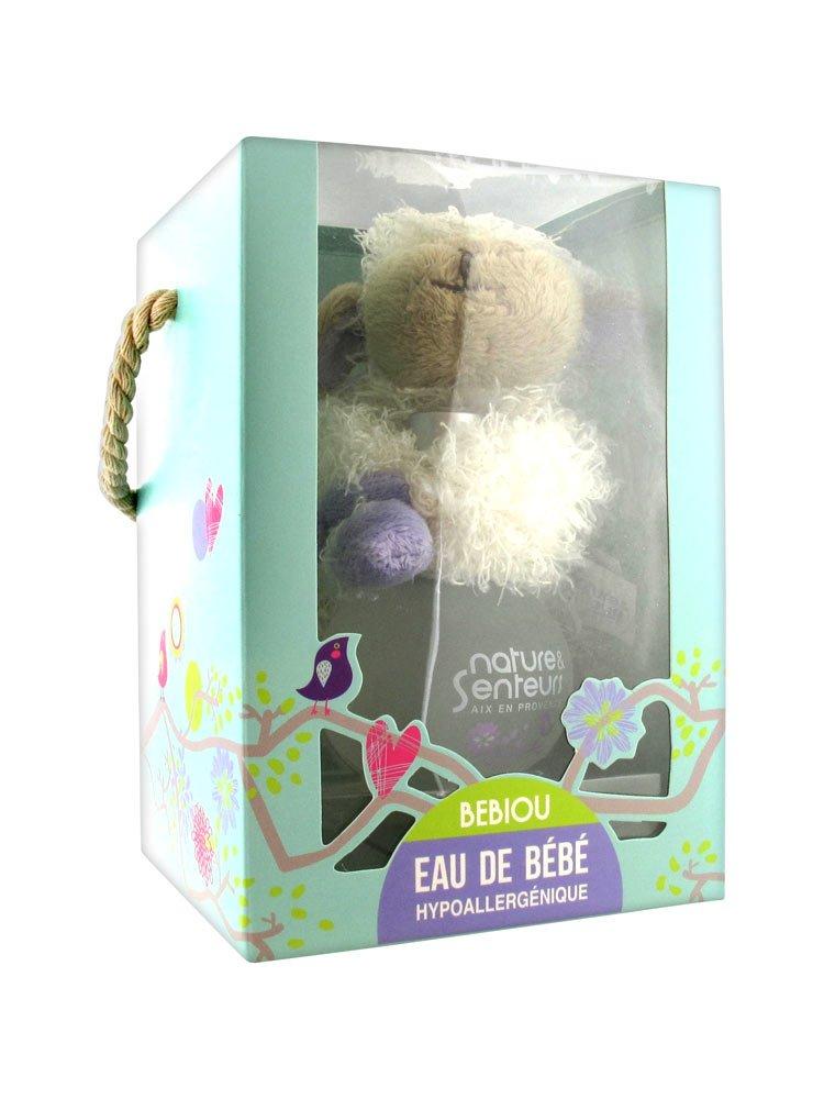 Nature & Senteurs Coffret Bebiou Eau de Bébé 50 ml + Doudou Mouton