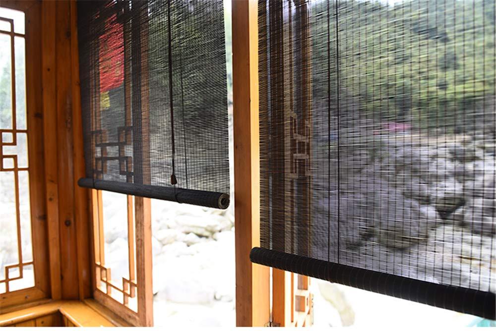 Stores en Bambou Stores en Bambou Exterieur Stores enrouleurs Stores en Bois Stores v/énitiens Rideau Ameublement et d/écoration,Vert 100x200cm