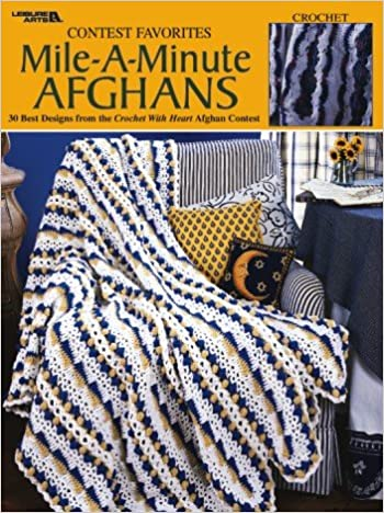 Amazon Contest FavoritesMileAMinute Afghans Crochet Magnificent Mile A Minute Afghan Pattern