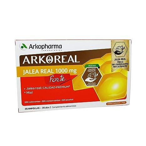 20 Viales Jalea Real Pura 1000 mg Arkopharma
