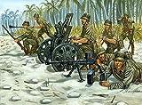 Italeri - I6164 - Maquette - Chars d'assaut - Japanese M92 Light Howitzer and AT Team - Echelle 1:72