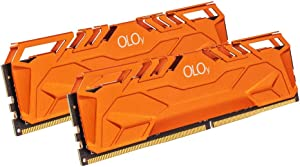 OLOy DDR4 RAM 64GB (2x32GB) 3000 MHz CL16 1.35V 288-Pin Desktop Gaming UDIMM (MD4U3230161DHTDA)