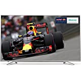 Hisense 55 inch HDR Widescreen 4K Smart LED TV with Freeview HD - Silver