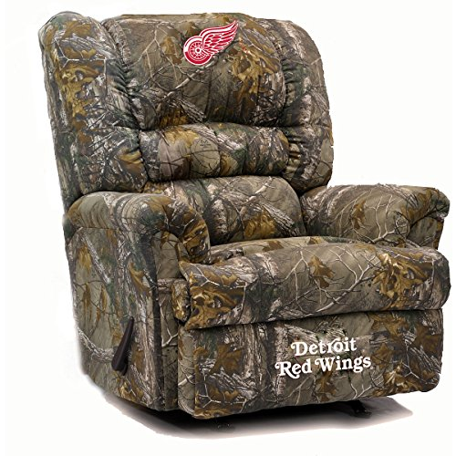 Detroit Red Wings Recliner Red Wings Leather Recliner